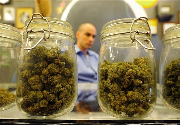 jars of weed dispensary