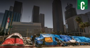 Homelessness problem in Los Angeles